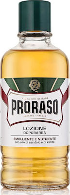 Proraso Sandalwood & Shea Butter After Shave Lotion 400ml