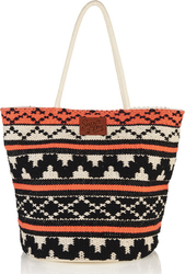 Superdry Whitney Beach Tote Bag Coral