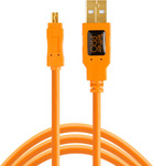 Tether Tools USB 2.0 Cable USB-A male - mini USB-B male 0.3m (CU8001-ORG)