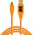 Tether Tools USB 2.0 Cable USB-A male - mini USB-B male 0.3m (CU5401ORG)