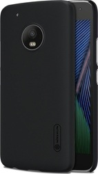 Nillkin Super Frosted Back Cover Πλαστικό Μαύρο (Moto G5 Plus)