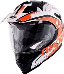 Kappa Moto KV30 Enduro Track V-10 Glossy White/Black-Orange