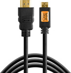 Tether Tools HDMI 1.4 Cable HDMI male - mini HDMI male 4.6m (TPHDCA15)