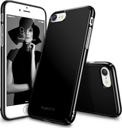 Ringke Slim Back Cover Πλαστικό Gloss Black (iPhone 7)