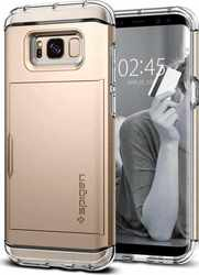 Spigen Crystal Wallet Gold Maple (Galaxy S8)