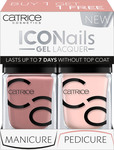 Catrice Cosmetics Iconails Gel Lacquer Duo Pack 10 Rosywood Hills & 38 Honeymoon Is Coming Soon