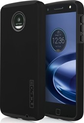 Incipio Dualpro Back Cover Μαύρο (Moto Z Play)