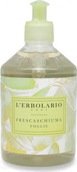 L' Erbolario Frescaschiuma Foglie Leaves Fresh Foam Hand & Body Cleanser 500ml