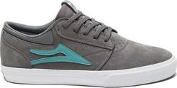 LAKAI GRIFFIN SHOES GREY SUEDE