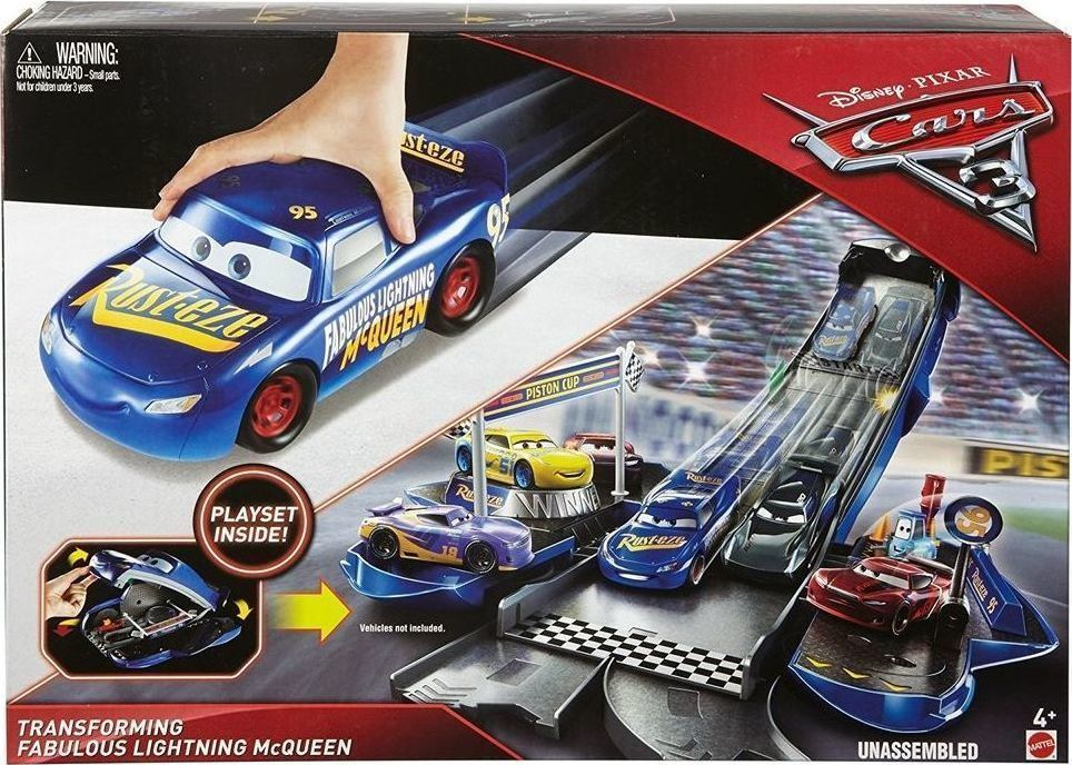 dcbfbf1e6b9 Προσθήκη στα αγαπημένα menu Mattel Cars 3 Transforming Fabulus Lightning  Mcqueen Playset