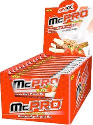Amix McPro Protein Bar (20 X 60 gr) Strawberry Yogurt