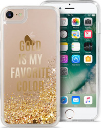 Puro Aqua Back Cover Gold Is My Favourite Colour (iPhone 7)
