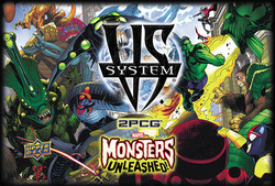 Upper Deck Vs System 2pcg Monsters Unleashed Exp