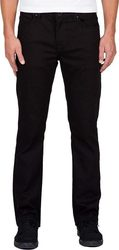 VOLCOM SOLVER DENIM PANT BLACK ON BLACK