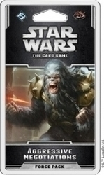 Fantasy Flight Star Wars Lcg Aggressive Negotiations Force Pack