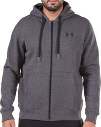 Under Armour Rival Fitted Full Zip 1302290-090