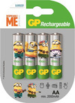 GP Batteries Minion AA 2000mAh (4τμχ)