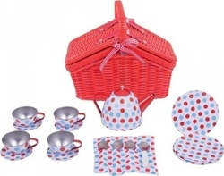 Big Jigs Basket Tea Set Σετ Τσαγιού
