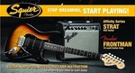 Squier Affinity Strat HSS Pack Brown Sunburst