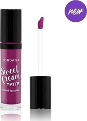 Jordana Sweet Cream Matte Lip Color 26 Currant