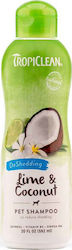 Tropiclean Lime & Coconut De Shedding Shampoo - 355ml