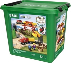 Brio Toys Large Countryside & Cargo Set