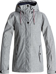 ROXY BILLIE Women Snow Jacket Hertitage Heather