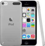 OEM Silicone Case Transparent White (iPod Touch 5th)