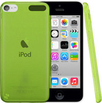 OEM Silicone Case Transparent Green (iPod Touch 5th)