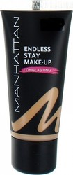 Manhattan Endless Stay Longlasting Foundation 58 Soft Ivory 30ml
