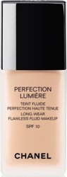 Chanel Perfection Lumiere Long Wear Flawless Fluid Make Up SPF10 32 Beige Rose 30ml
