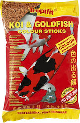 ΤΡΟΦΗ TROPICAL KOI - GOLDFISH COLOUR STICKS ΣΑΚΟΥΛΑΚΙ 1000ML