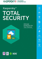 Kaspersky Total Security 2018 (1 Licence , 1 Year) Key