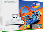 Microsoft Xbox One S 500GB & Forza Horizon 3 Hot Wheels