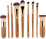 Medium 20181114183646 beauty inc vegan line ecoluxe 9pcs bamboo brush set