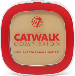 W7 Cosmetics Catwalk Complexion Compact Powder Beige
