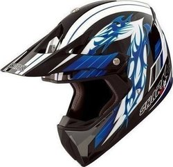 Shark SXR Crew Line Black/Blue/White