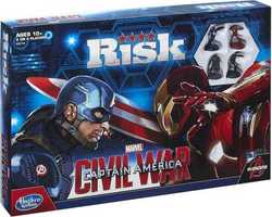 Hasbro Risk: Captain America - Civil War Edition Game