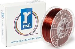 Real Filament PETG 2.85mm Translucent Red 1kg