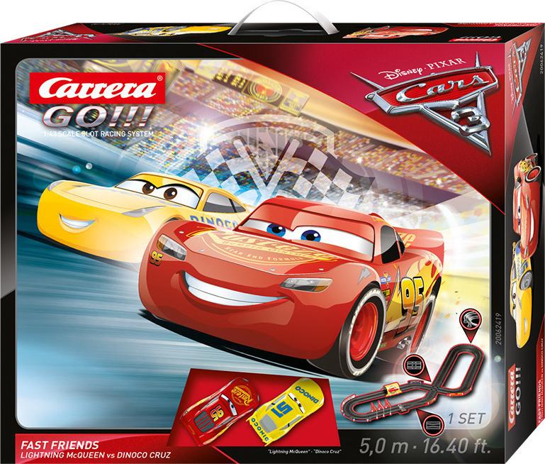 Προσθήκη στα αγαπημένα menu Carrera GO Disney Pixar Cars 3 - Fast Friends 7022e25da82