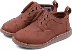Toms Shoes Brogue Brown Synthetic Leather 10010666 Καφέ