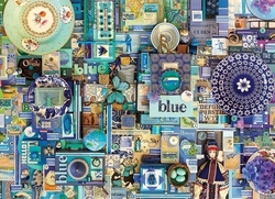 Blue 1000pcs (51865) Cobble Hill