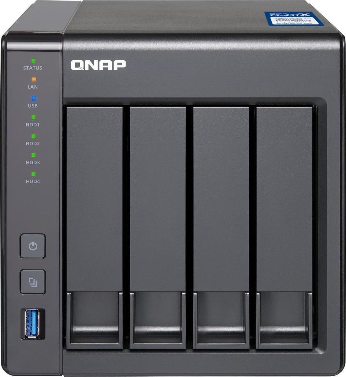 QNap TS-431X (TS-431X-8G) - Πληρωμή και σε έως 36 Δόσεις!!!
