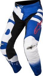 Alpinestars Racer Braap Pants Blue/White 2018