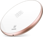 Baseus Wireless Charging Pad (Qi) Λευκό (Flare)