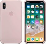 Apple Silicone Case Pink Sand (iPhone X)