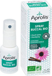 Aprolis Mouth Spray Bio Propolis Echinacee Cannelle 20ml