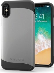 Snugg Infinity Back Cover Γκρι (iPhone X/Xs)