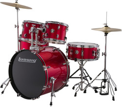 Ludwig LC17514 Accent Drive Red