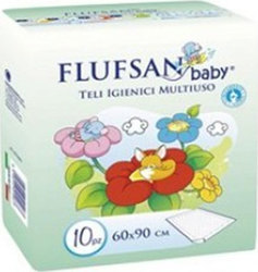 Flufsan Baby Υποσέντονα 60 x 90 10τμχ